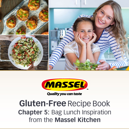 Massel Bag Lunch Versatile Gluten-Free Recipes