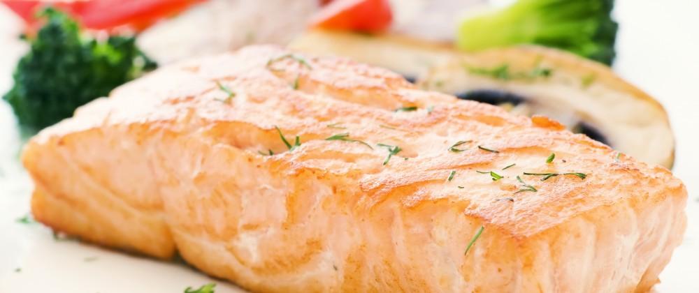 Steamed Salmon Fillets