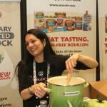 Tess Masters cooks cauliflower soup with Massel Bouillon