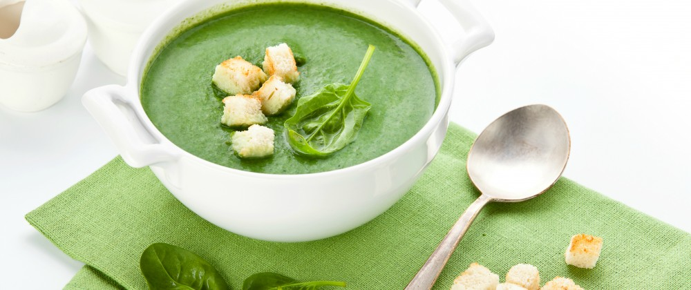 Massel Bouillon Vegan Cream of Spinach Soup Recipe