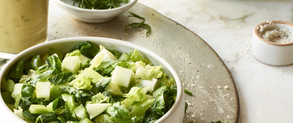 Massel Happy Hydrator Salad with Oil-Free Lemon Mustard Tarragon Dressing Recipe