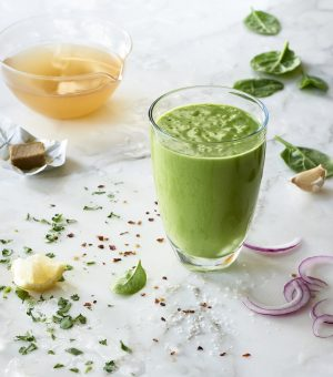 Massel Savory spinach smoothie
