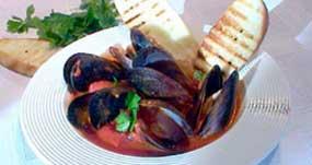 Mediterranean Mussels, a gluten free recipe from Massel