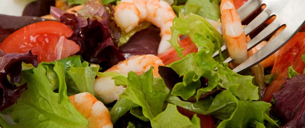 Seafood Fish Salad