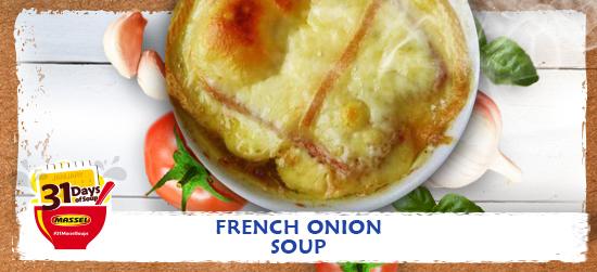 French Onion soup recipe using Massel Bouillon