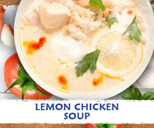 Lemon Chicken soup recipe using Massel Bouillon