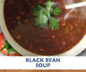 Black Bean Soup Recipe using Massel Bouillon