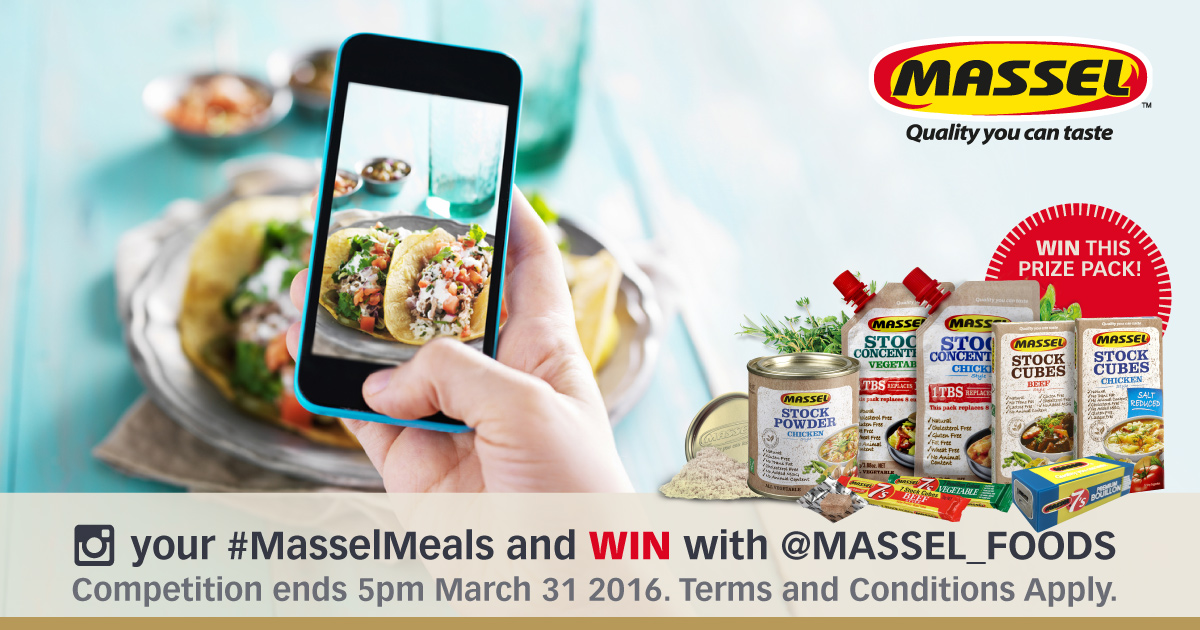 #MasselMeals Instagram Competition by Massel Bouillon and Seasonings