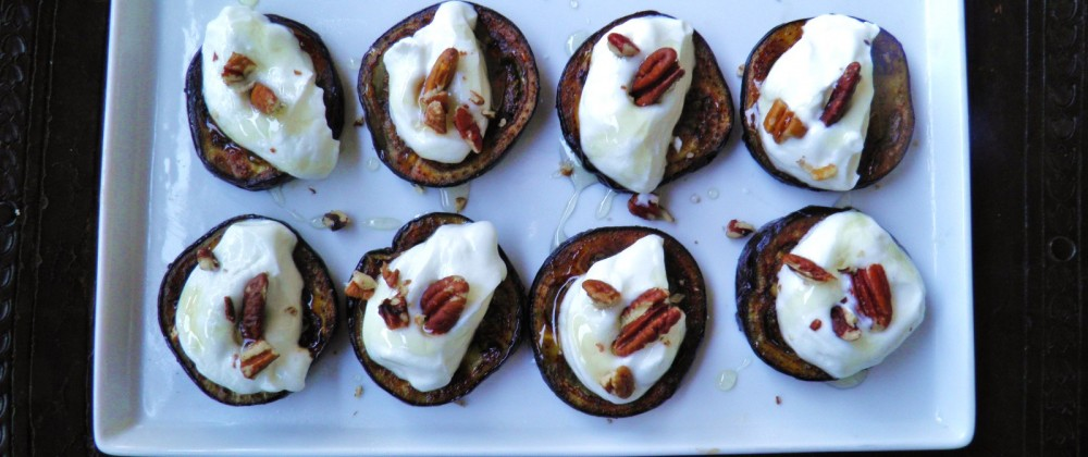 eggplant goat cheese recipe