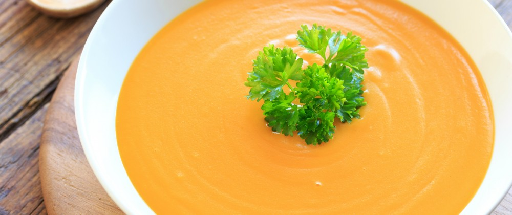 Gluten-free pumpkin soup recipe
