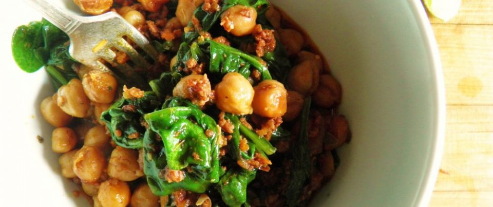 Chickpea with chorizo