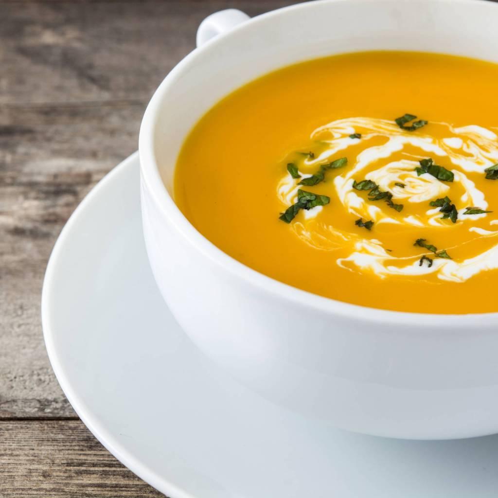 Stress-free Simplest Pumpkin Soup