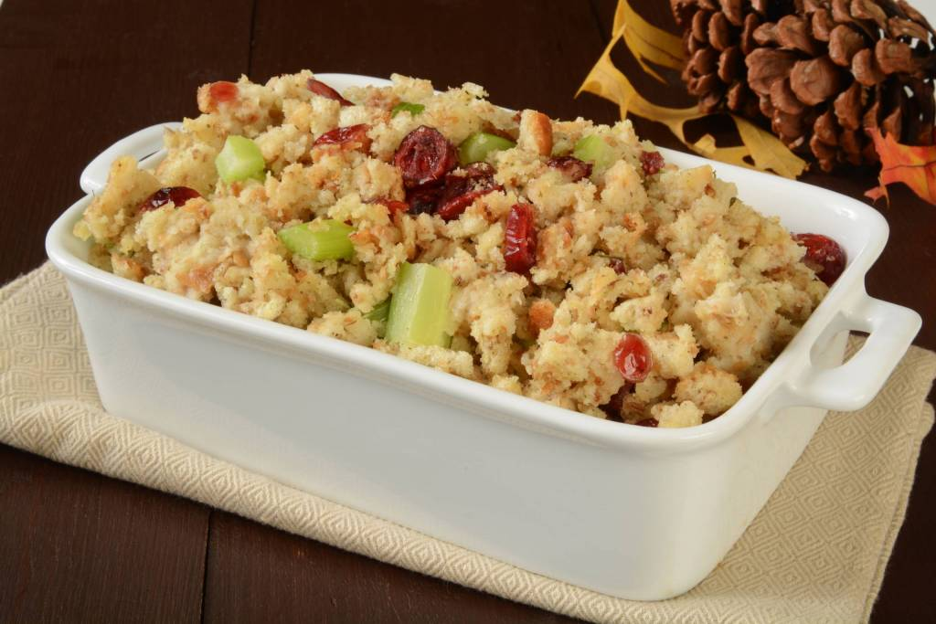 Cranberry Macadamia Nut Rice Stuffing