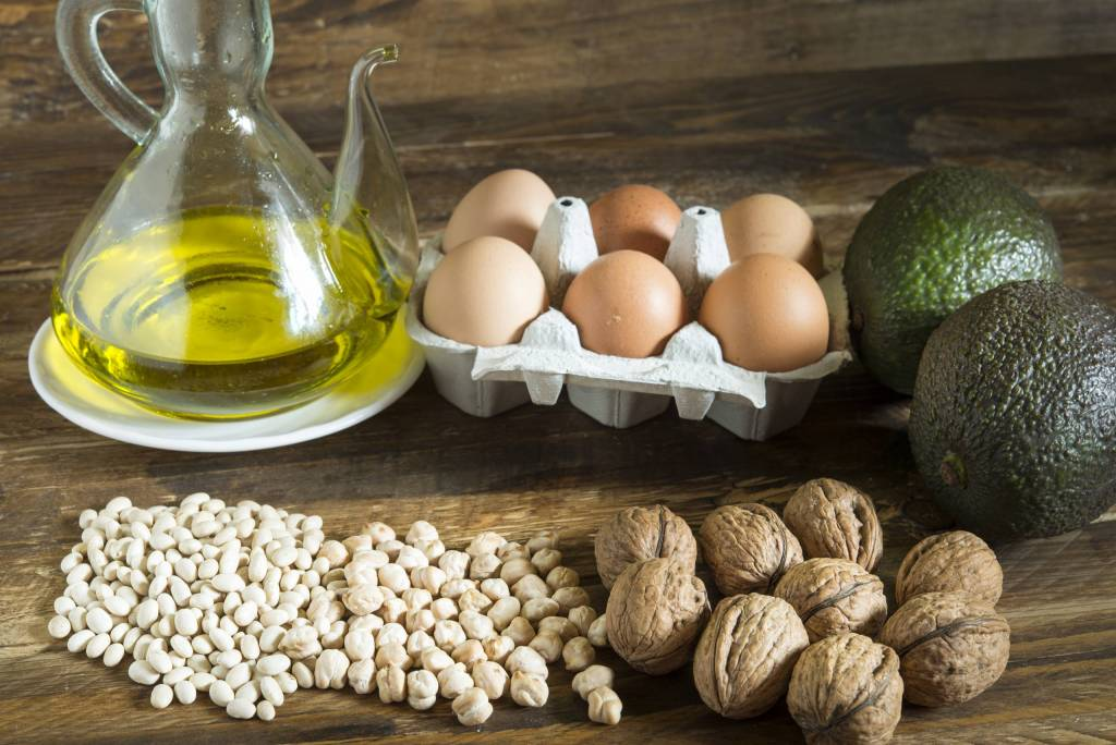 Avocados, olive oil and nuts are just a few healthy fats that you should be incorporating into your diet.