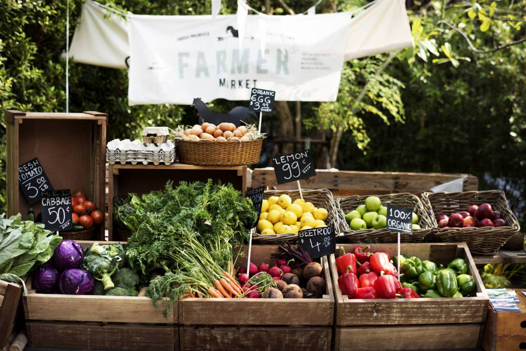 Shopping locally can help you live a sustainable lifestyle.