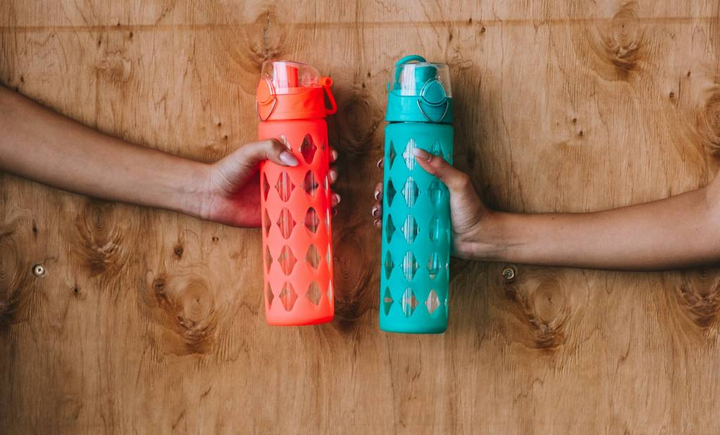 Investing in a reusable water bottle is a great way to live sustainably.